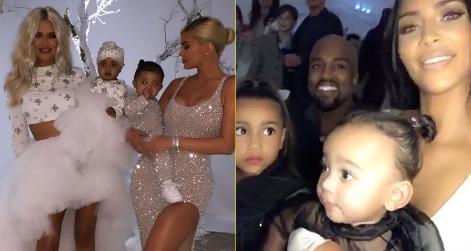 Kim Kardashian Christmas Party 2018.Kardashian Family Hosts Extravagant Annual Christmas Eve