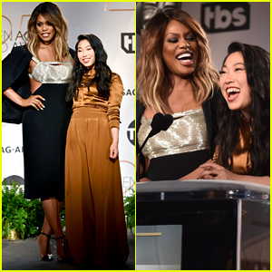 Laverne Cox & Awkwafina Look Like They Had a Blast Announcing the SAG Awards Nominations!