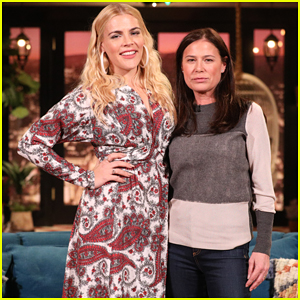 Maura Tierney Stole a Picture of Oprah Winfrey for Busy Philipps!