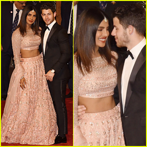 Nick Jonas & Priyanka Chopra Are Picture Perfect at Mumbai Wedding
