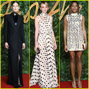 Rosamund Pike, Carey Mulligan, & Naomie Harris Step Out in Style at The Fashion Awards 2018!