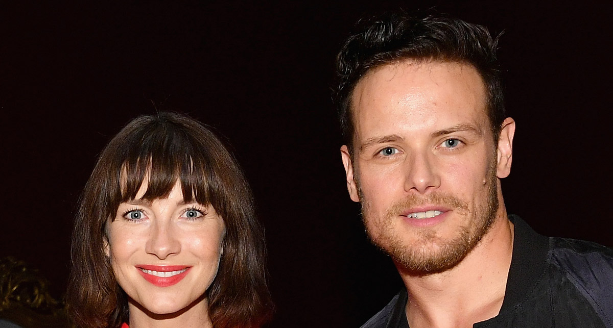 Sam Heughan Writes Sweet Message to Caitriona Balfe After