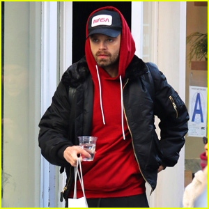 Sebastian Stan Finishes Up His Holiday Shopping in NYC!