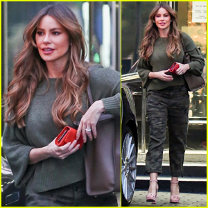 Sofia Vergara Does Some Jewelry Shopping in Beverly Hills