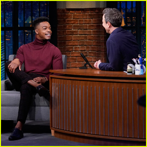 Stephan James Reveals on 'Late Night' How He Find Out About Golden Globe Nom!