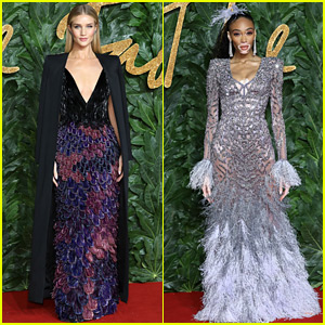 Rosie Huntington-Whiteley, Winnie Harlow, & More Models Stun at The Fashion Awards 2018!