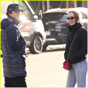 Timothee Chalamet & Lily-Rose Depp Step Out for Lunch Date in NYC!