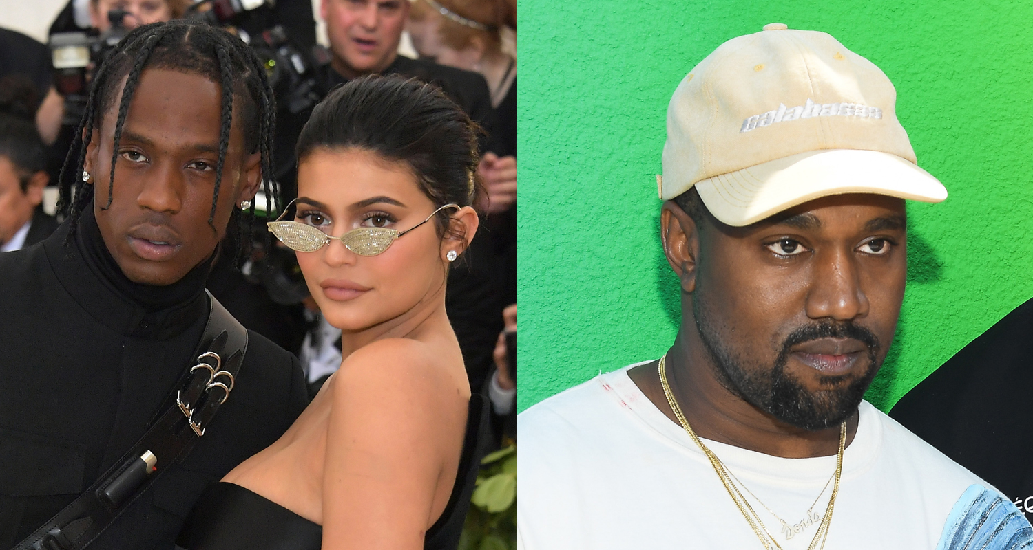 Kylie Jenner Weighs In On Kanye West's Feud with Travis Scott - Just Jared