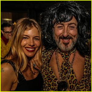 Sienna Miller Celebrates Alan Cumming's Birthday With Studio 54 Party!