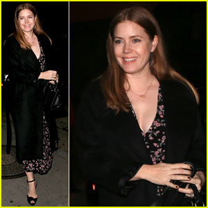266151bd7aaab Amy Adams Is All Smiles Hours Before Oscars 2019 Nomination!