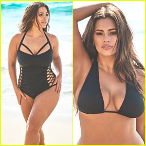 Ashley Graham Relaunches Swimsuits For All Essentials Collection