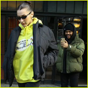 Bella Hadid Gets Filmed By The Weeknd During Cute Afternoon Date in NYC