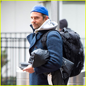Bradley Cooper Looks Sporty While Arriving at Airport in New York City