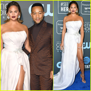 Chrissy Teigen & John Legend Couple Up For Critics' Choice Awards 2019!