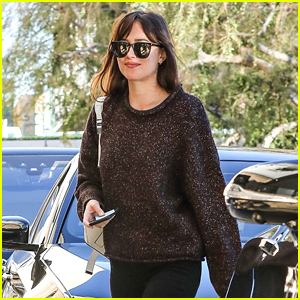 Dakota Johnson Gets In Some Retail Therapy at Barneys