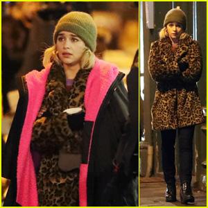 Last Christmas 2019.Emilia Clarke Films Romantic Comedy Last Christmas In