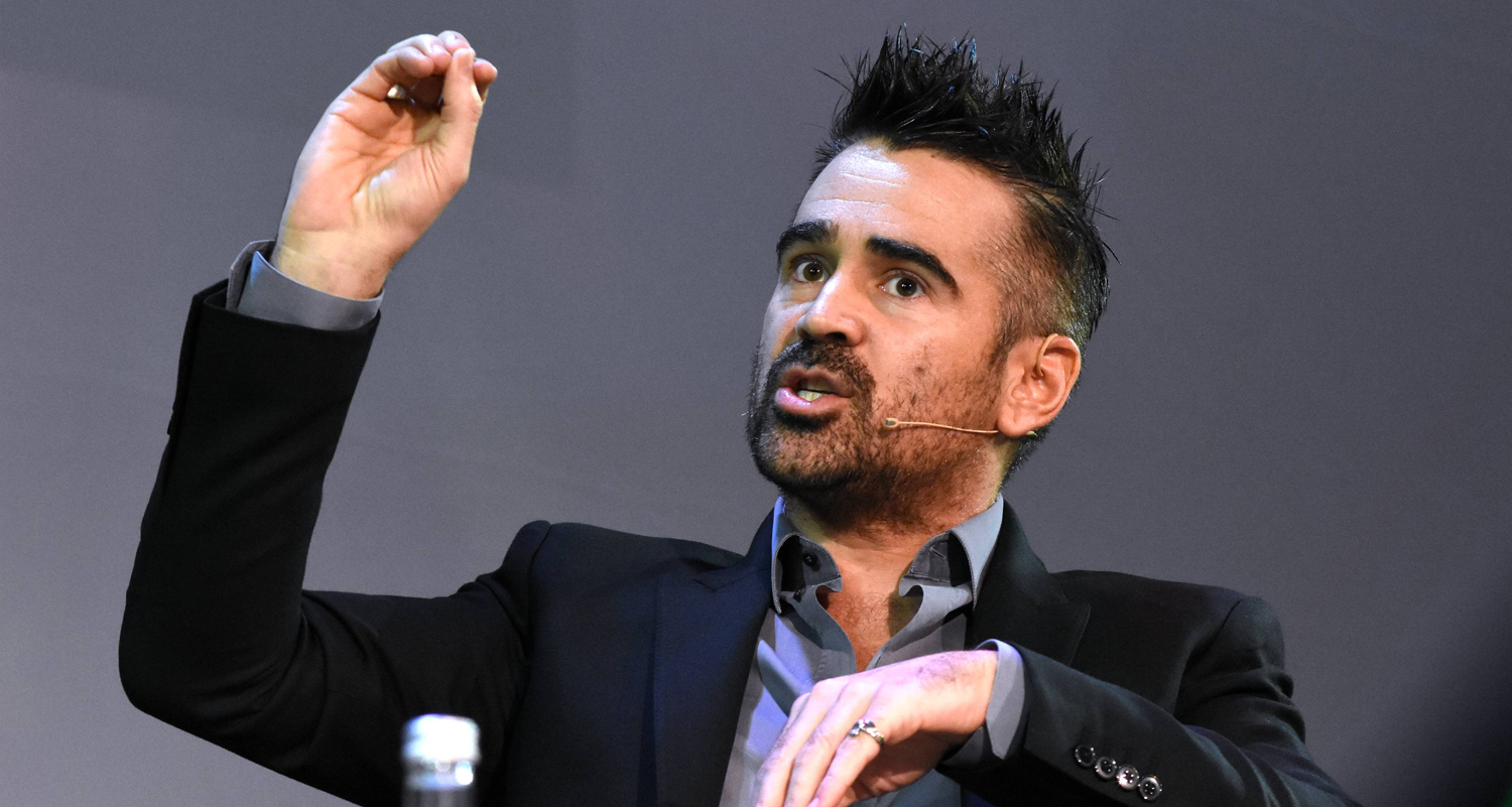 Colin Farrell Shares Life Lessons at Pendulum Summit 2019 ...