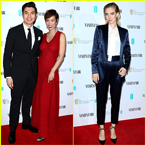 Henry Golding & Vanessa Kirby Support the BAFTAs' EE Rising Star Nominees