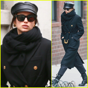 Irina Shayk Bundles Up for Day Out in NYC
