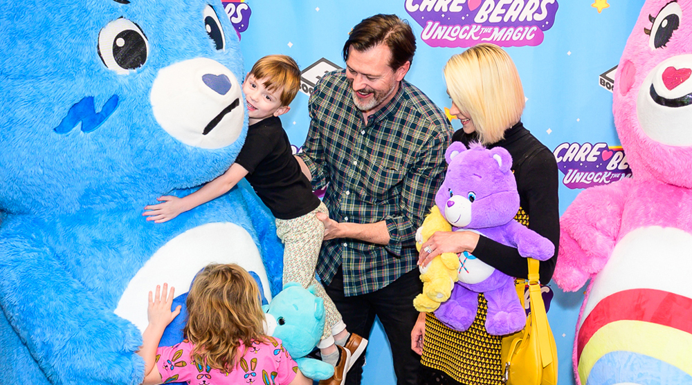 5d2afba0 Jaime King Meets the Care Bears with Her Adorable Kids! | Celebrity ...