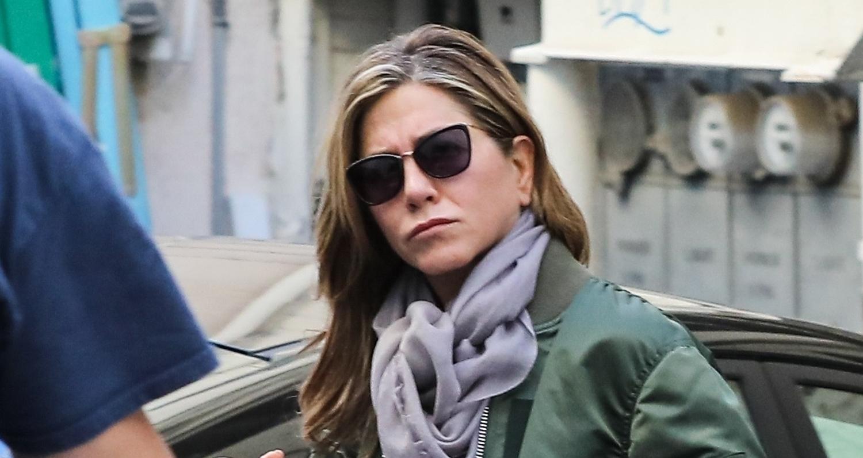 Jennifer Aniston Spends the Day at a Spa   Jennifer Aniston
