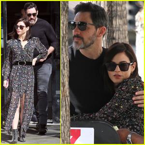 Jenna Dewan Cozies Up to Boyfriend Steve Kazee During Lunch Date!