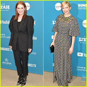 Julianne Moore & Michelle Williams Kick Off Sundance 2019 with 'After the Wedding' Premiere!
