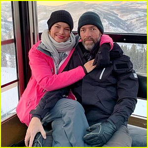Kate Bosworth & Michael Polish Go Snow Tubing for Her 36th Birthday!