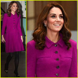 Kate Middleton Visits Royal Opera House to Learn About Costumes & Textiles