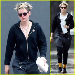 Kristen Stewart Spends a Rainy Day in LA at the Salon!