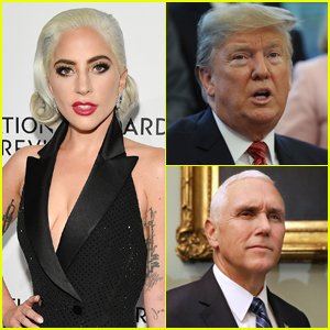 Lady Gaga Calls Out Trump & Pence at 'Enigma' Vegas Show - Watch Here