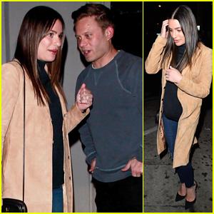 Lea Michele & Zandy Reich Have Date Night Out with Brad Goreski!