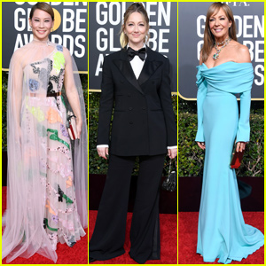 Lucy Liu Joins Judy Greer & Allison Janney at Golden Globes 2019!