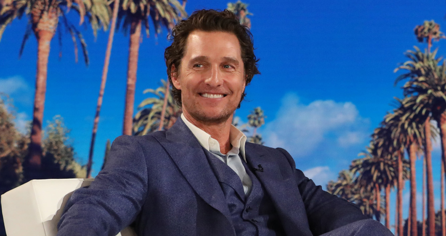 Matthew McConaughey Reveals Anne Hathaway Was a Day Late ...