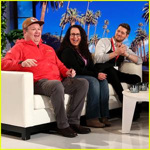 Eric Stonestreet Unexpectedly Appears in Michael Buble's 'Ellen' Hidden Camera Prank - Watch!