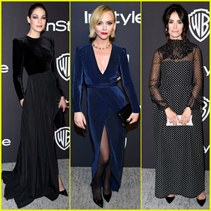 Michelle Monaghan, Christina Ricci & Abigail Spencer Get Glam at Golden Globes After Party!