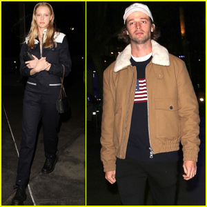 Patrick Schwarzenegger Couples Up With Abby Champion at Elton John Concert