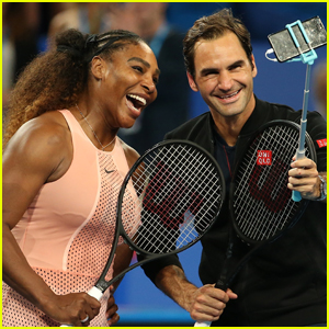 Roger Federer Defeats Serena Williams in Mixed Doubles Match at Hopman Cup!