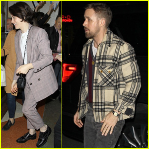 Ryan Gosling & Claire Foy Host 'First Man' Screening in Santa Monica
