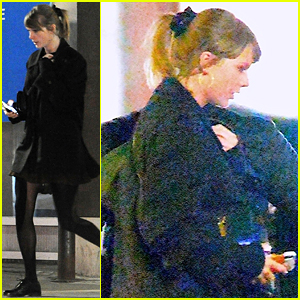 Taylor Swift Works on New Music in the Recording Studio!