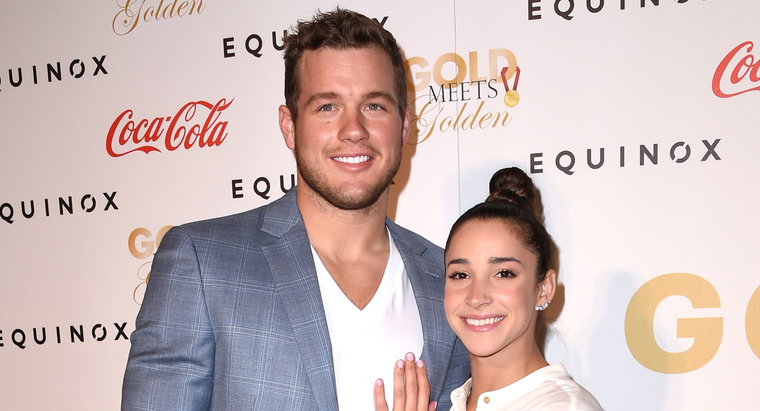 Colton Underwood Opens Up About 'Tough' Split from Aly Raisman - Just Jared thumbnail