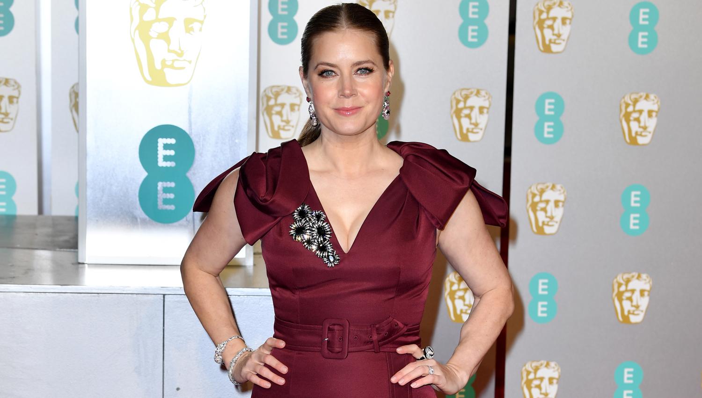 Baftas 2019: Amy Adams Kicks Off BAFTAs 2019 Red Carpet In Prada