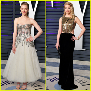 Amanda Seyfried & Dianna Agron Step Out In Style for Vanity Fair's Oscars 2019 Party!