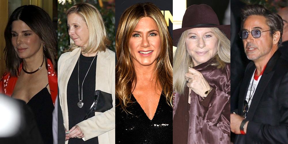 5a117d1c0aad Every Celeb at Jennifer Aniston's Birthday Party – Full Guest List! | Amal  Alamuddin Clooney, Amanda Anka, Barbra Streisand, Brad Pitt, Bryan Randall,  ...
