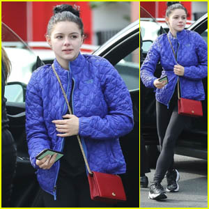 Ariel Winter Hits the Hair Salon in West Hollywood