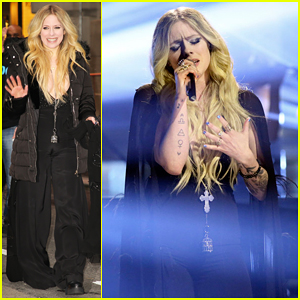 Avril Lavigne Perfroms 'Head Above Water' for 'Tonight Show' - Watch Here!
