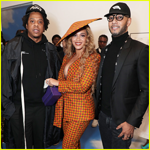 Beyoncé & Jay-Z Couple Up at DreamWeavers Exhibition Opening Celebration!