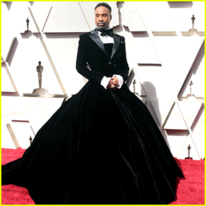 Pose's Billy Porter Wears a Tuxedo Gown on Oscars 2019 Red Carpet
