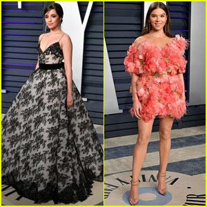 Camila Cabello & Hailee Steinfeld Go Glam for Vanity Fair's Oscars 2019 Party