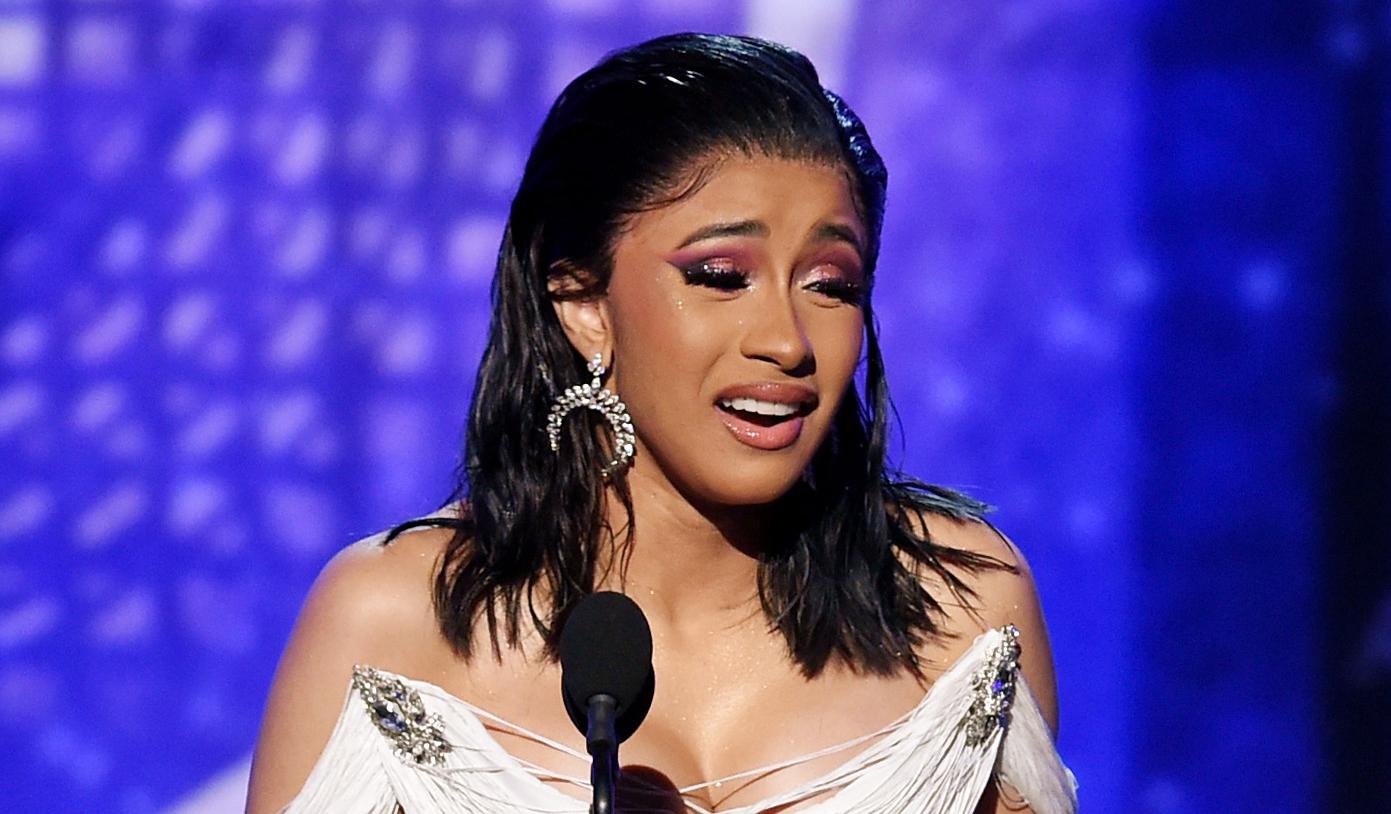 Cardi B Rap: Cardi B Is Speechless After Grammys 2019 Win For Best Rap